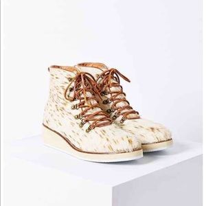 Urban Outfitters Ecote Snuffy Hiker Faux Fur Boot